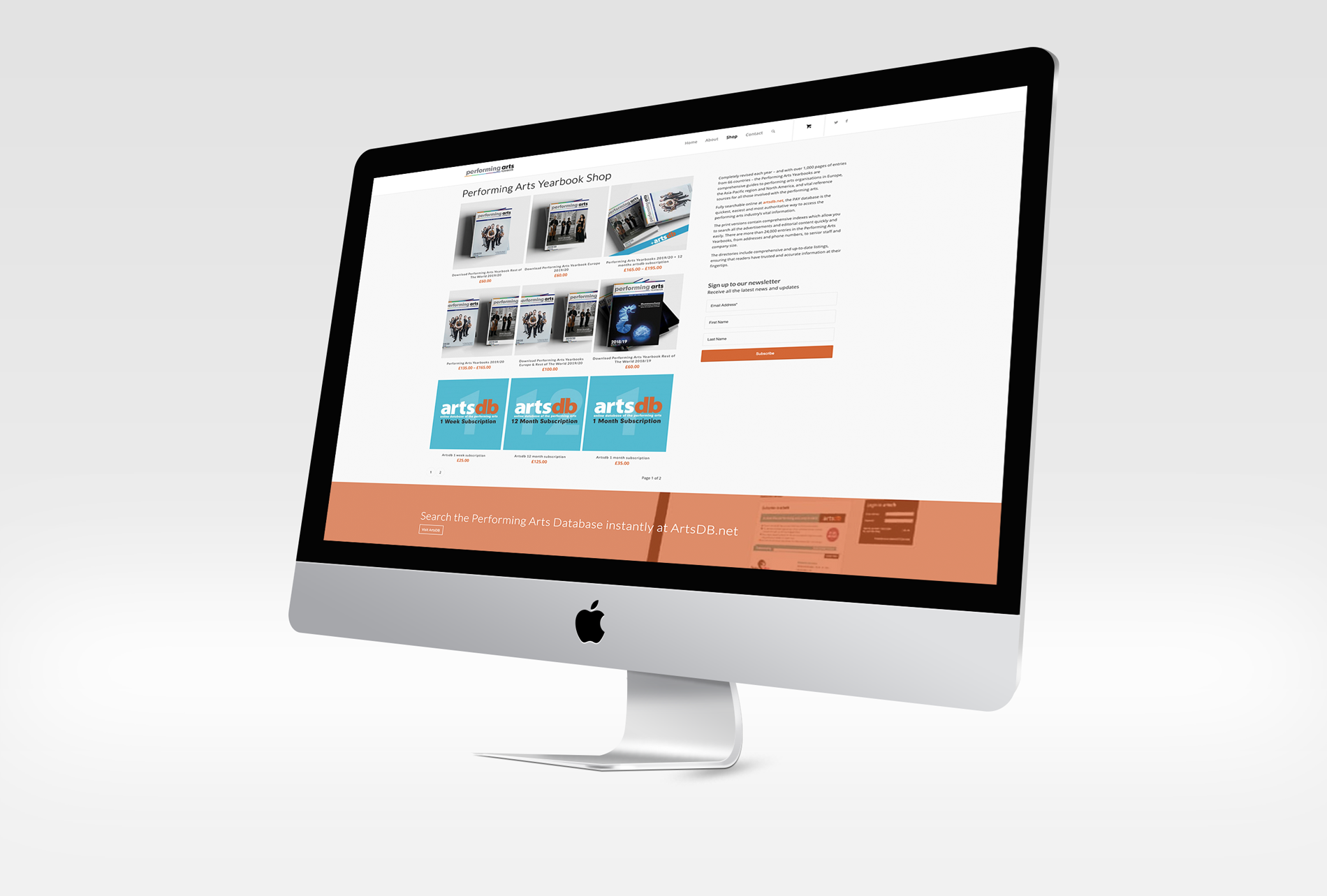 PAYB demo screen